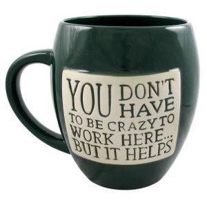 crazy mug