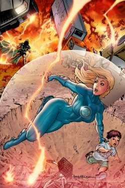 invisible woman force field