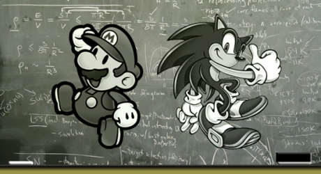 videogame-chalkboard