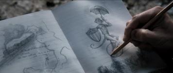 steve monkey sketch