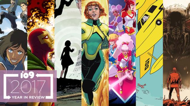 best 2017 comics