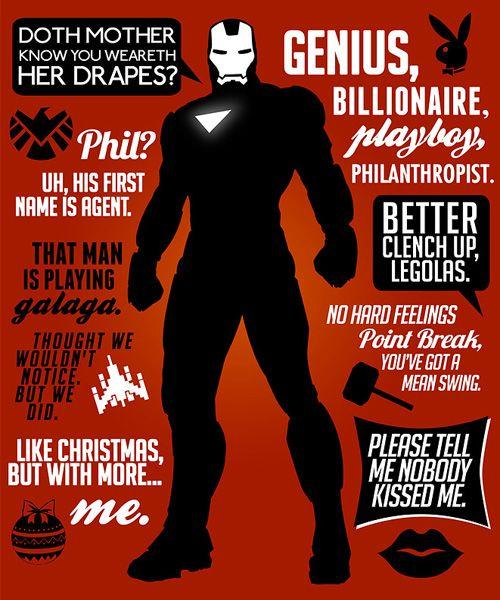 Iron Man lines image